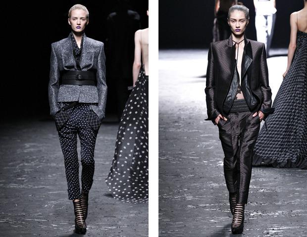 Парижская неделя моды: показы Haider Ackermann, Viktor&Rolf, Vivienne Westwood, Junya Watanabe и CDG. Изображение № 11.