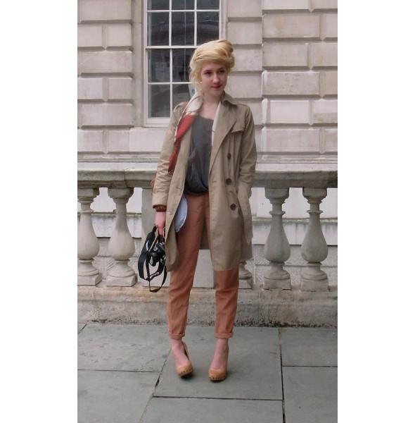 London Fashion Week: день первый — луки. Изображение № 6.