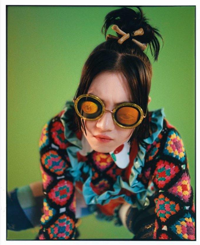 Цветной мех и лягушки в коллекции Meadham Kirchhoff x Topshop. Изображение № 4.