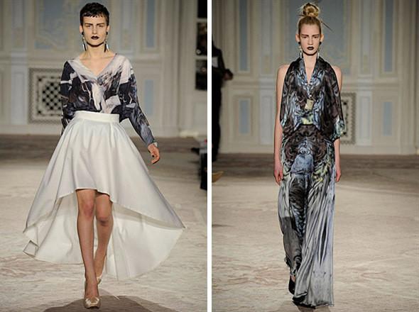 Изображение 11. Показы на London Fashion Week AW 2011: день 1.. Изображение № 14.