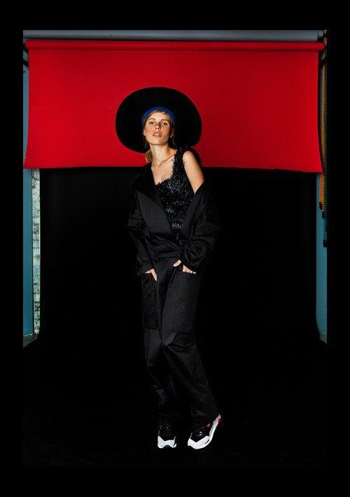 Кожаные шляпы и халаты в новой коллекции Anton Belinskiy. Изображение № 8.