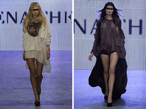 Изображение 8. Показы на London Fashion Week AW 2011: день 1.. Изображение № 12.