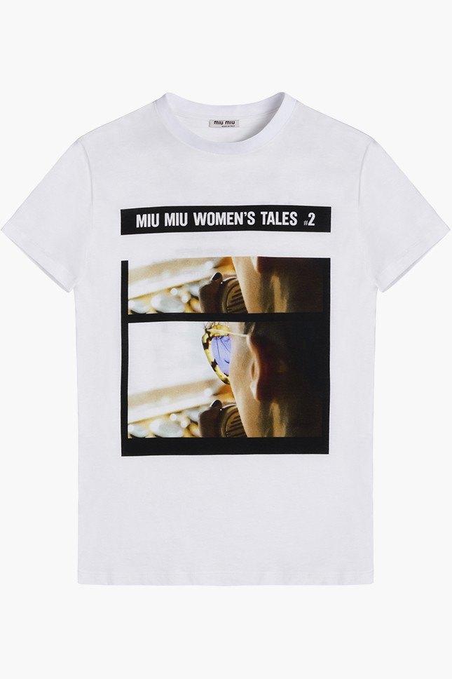 Miu Miu посвятили коллекцию футболок современным женщинам. Изображение № 14.