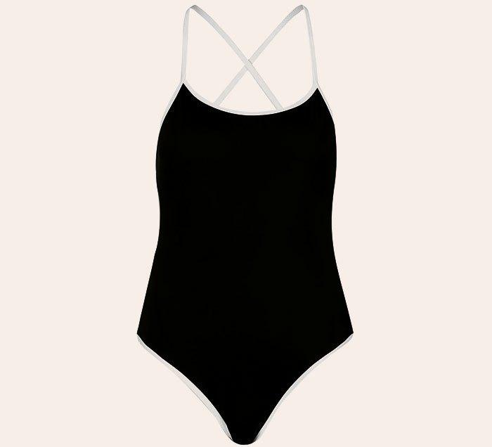 Что носить летом:  10 лаконичных слитных купальников . Изображение № 11.