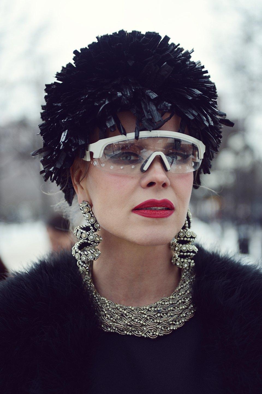 Шубы и горох на Stockholm Fashion Week. Изображение № 24.