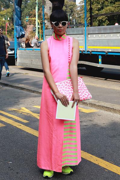 Milan Fashion Week: Уличный стиль, день 4. Изображение № 8.