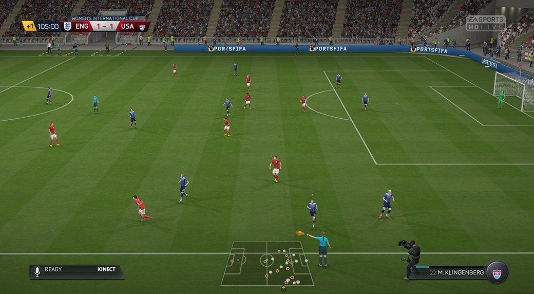 Футболистки клуба «GirlPower» играют в FIFA 16. Изображение № 7.