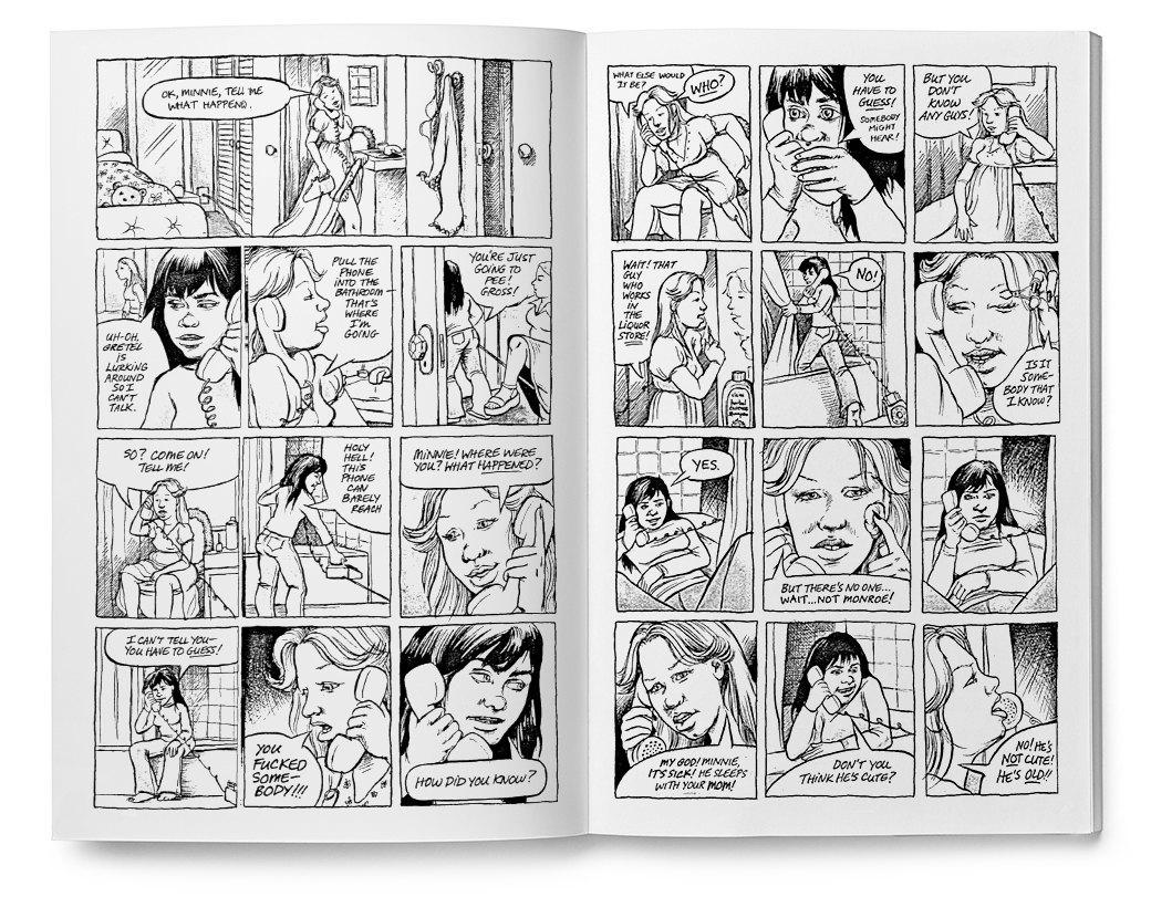 Мемуары в картинках: 10 комиксов о жизни женщин. Изображение № 10.
