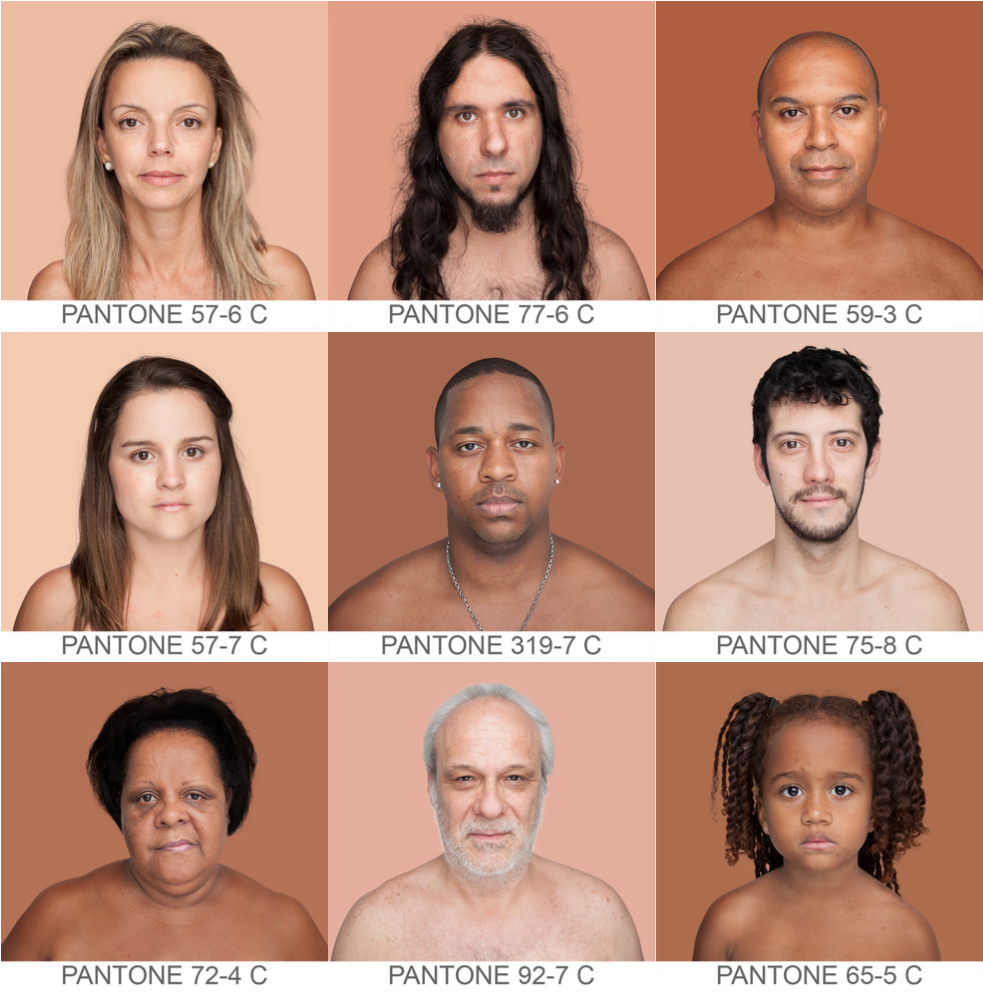 Всемирный каталог  оттенков кожи Humanæ. Изображение № 3.