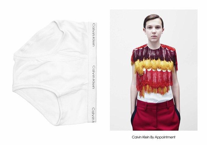 Милли Бобби Браун снялась в кампании Calvin Klein. Изображение № 1.