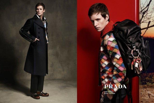 Эдди Редмэйн стал новым лицом Prada. Изображение № 4.