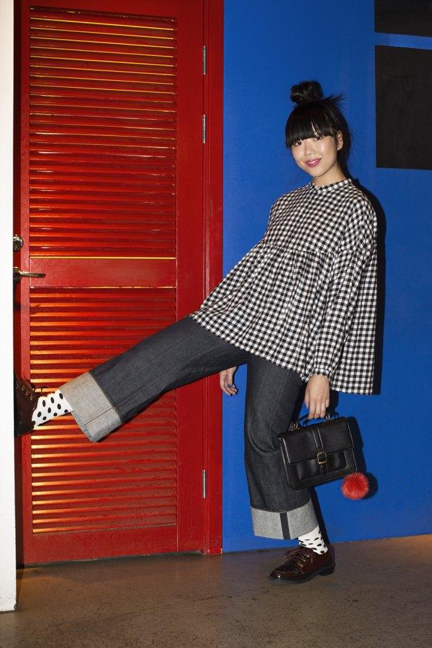 Блогер Сьюзи Баббл стала лицом линейки денима Monki. Изображение № 7.