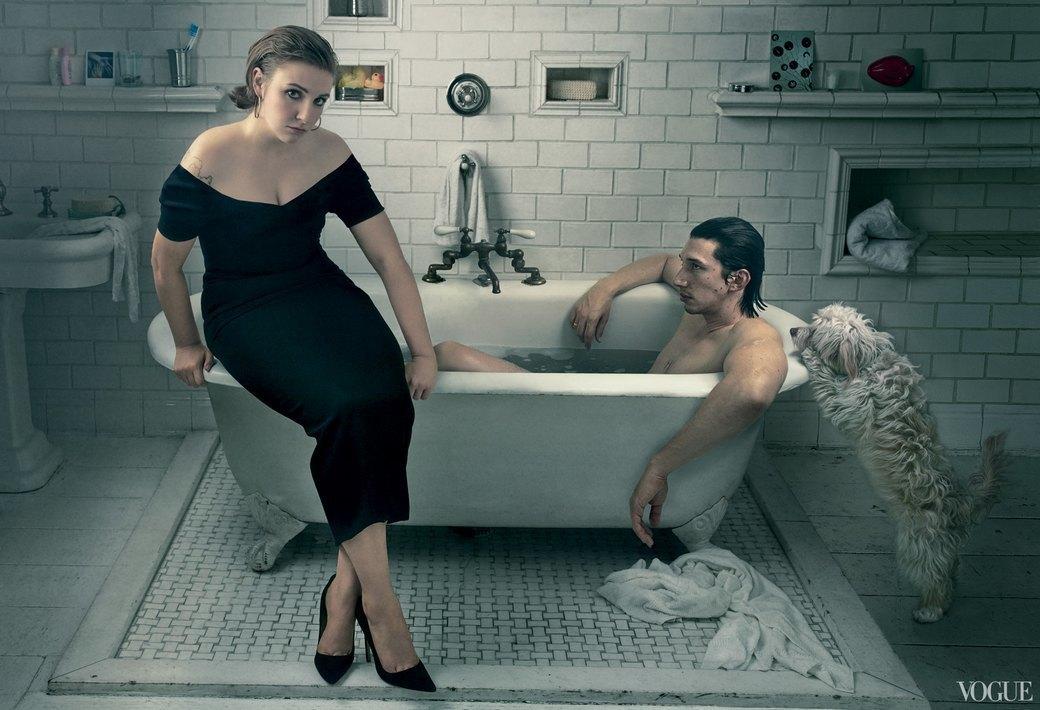 Съемка с Леной Данэм для Vogue. Изображение № 27.