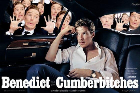 Новый мем: Бенедикт Камбербэтч и фанаты. Изображение № 3.