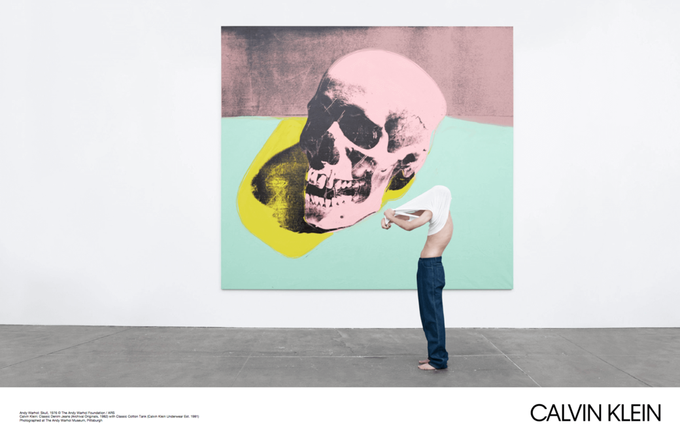 Новая кампания Calvin Klein посвящена современному искусству. Изображение № 3.