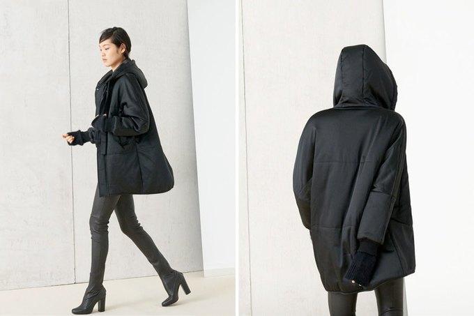 Кася Струсс, пальто и клетка в ноябрьском лукбуке Zara. Изображение № 4.