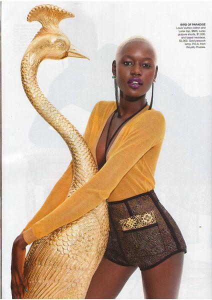 10 моделей африканского происхождения. Изображение № 41.