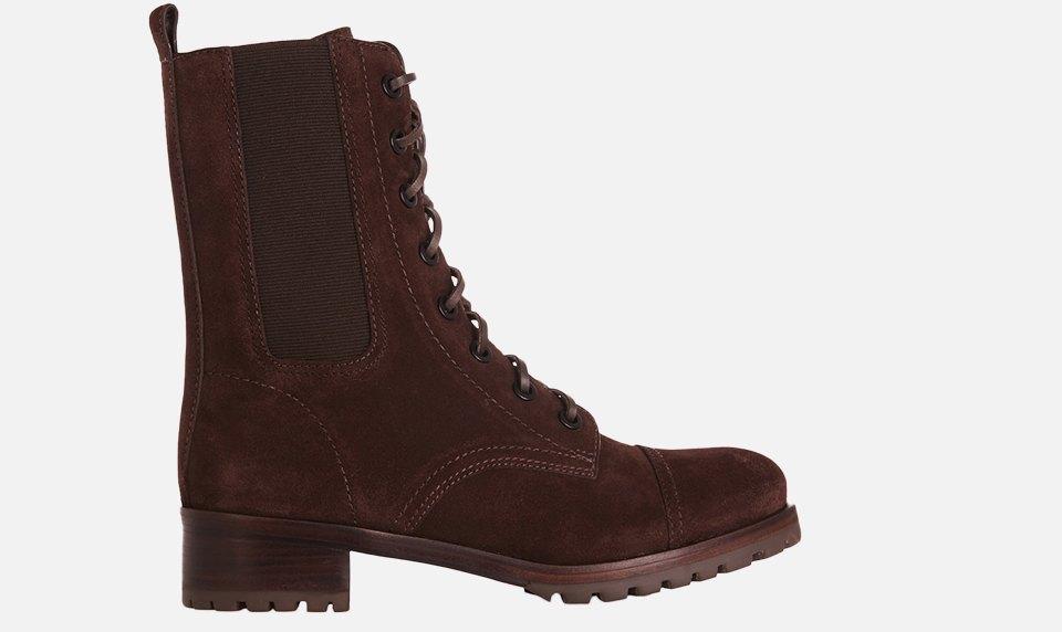Что носить осенью:  10 пар высоких ботинок  на шнуровке. Изображение № 4.