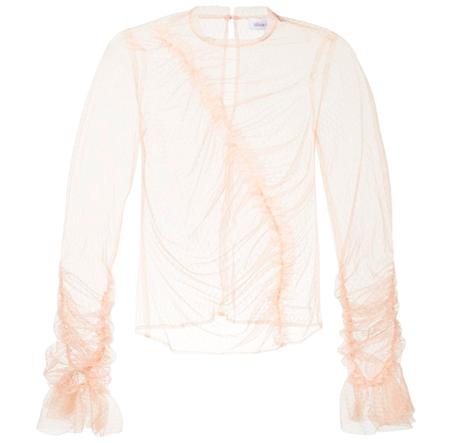 Прозрачные блузки:  От простых до роскошных. Изображение № 9.