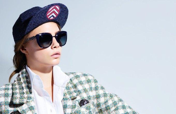 Кара Делевинь снялась  в новой кампании Chanel. Изображение № 4.