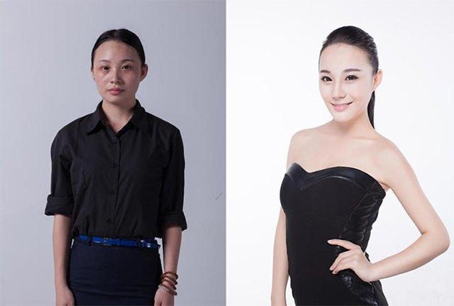 Стандарты красоты: китаянки после пластики. Изображение № 4.