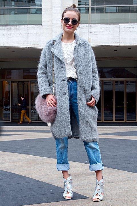 Стритстайл: Что носят на Нью-Йоркской неделе моды. Изображение № 15.