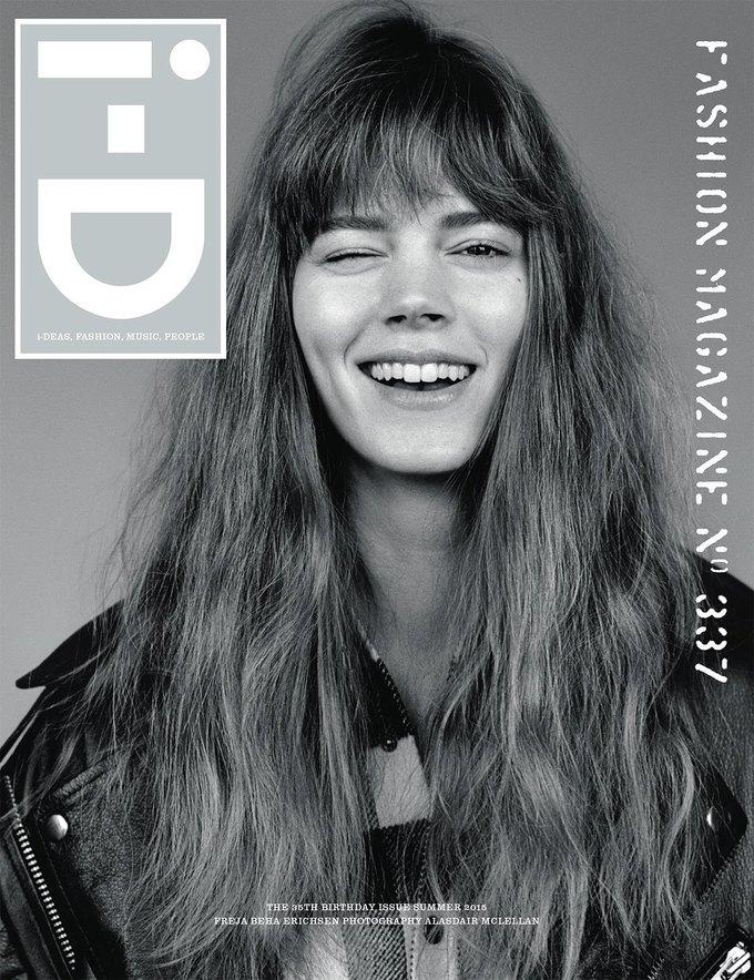 Журнал i-D отметил  35-летие восемнадцатью обложками с моделями. Изображение № 5.