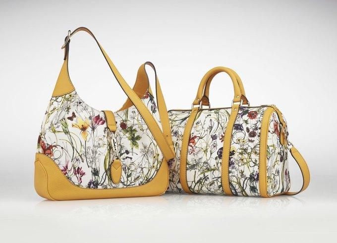 Gucci разобьет настоящий цветущий сад на основе своего принта Flora. Изображение № 1.