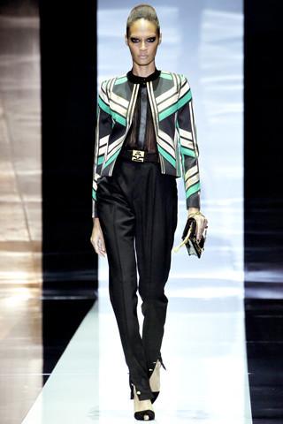 10 моделей с показа Gucci: 5 известных и 5 начинающих. Изображение № 1.