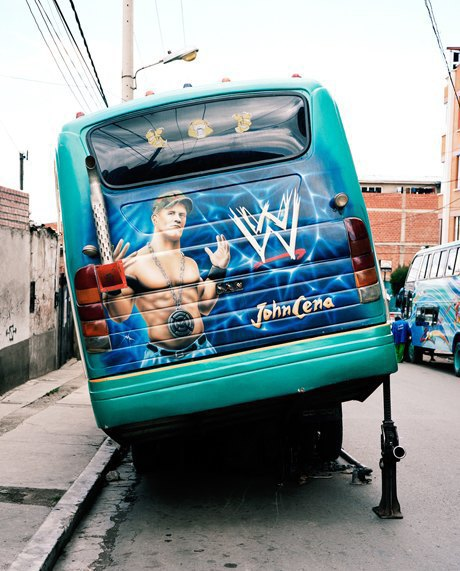 «Боливийские автобусы»:  Поп-культура на колесах. Изображение № 3.