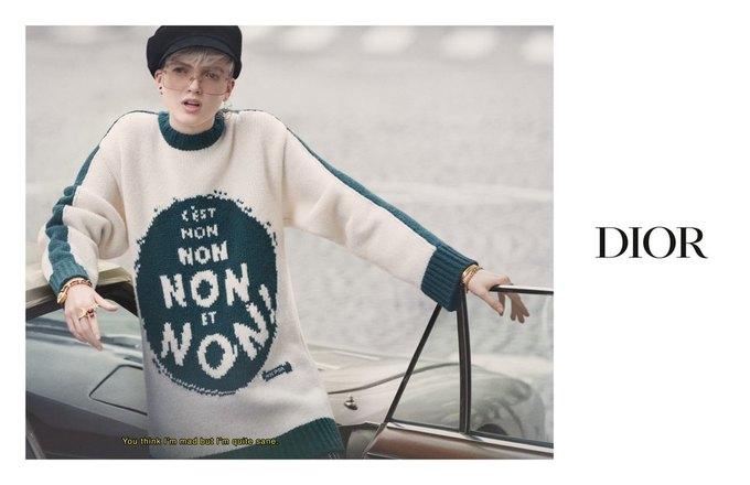 Dior показал кампанию в духе фильмов французской новой волны. Изображение № 1.