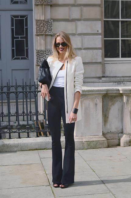 London Fashion Week: Уличный стиль, часть 1. Изображение № 14.