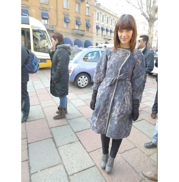 Milan Fashion Week: день первый — луки. Изображение № 12.