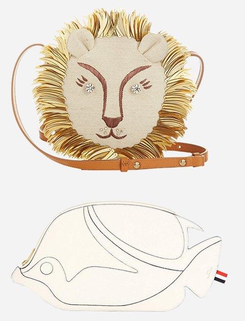 20 модных сумок весны:  От головы льва  до мешка из соломки. Изображение № 4.