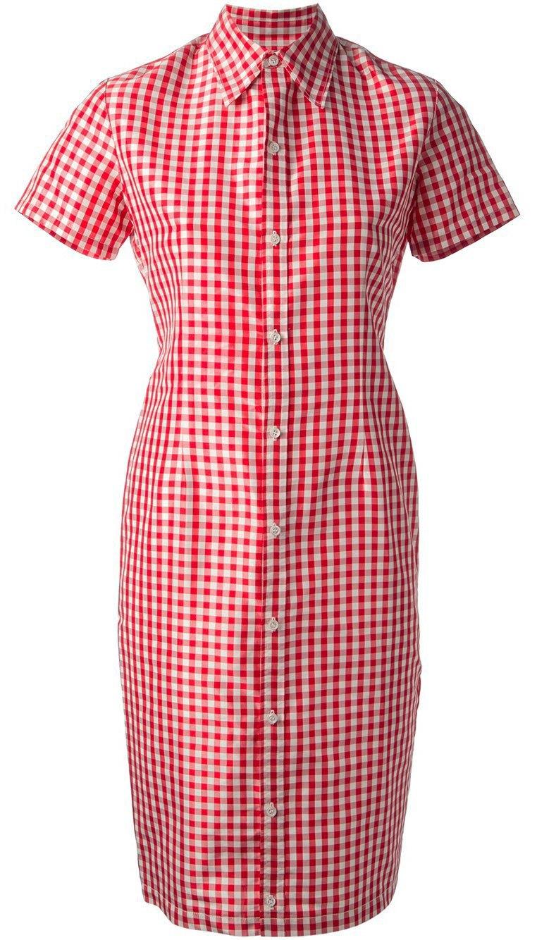 Платья-рубашки  в весенне-летних коллекциях. Изображение № 10.