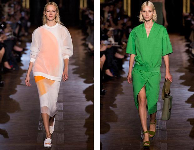 Парижская неделя моды: Показы Stella McCartney, Chloe, Saint Laurent, Giambattista Valli. Изображение № 1.