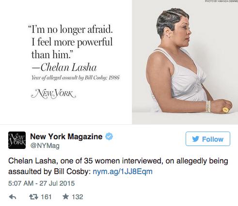 35 женщин, обвинивших Билла Косби в насилии,  на обложке NYMag. Изображение № 4.