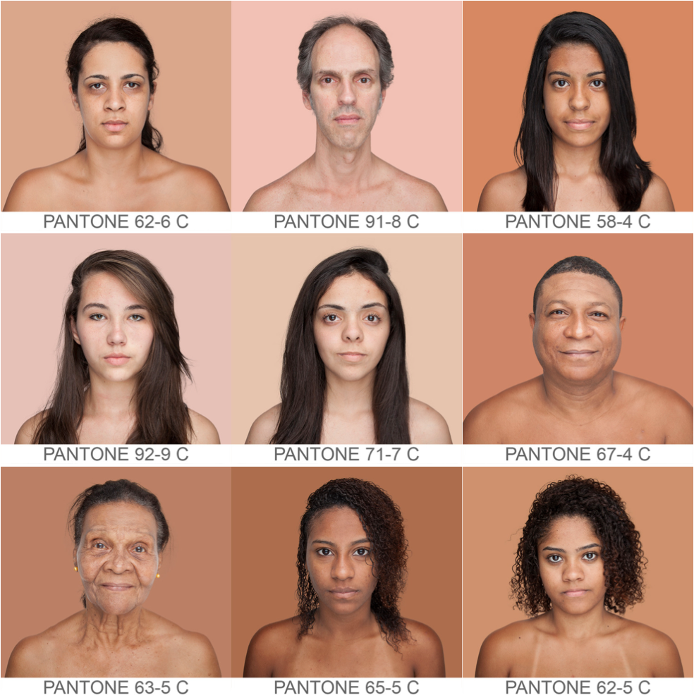 Всемирный каталог  оттенков кожи Humanæ. Изображение № 4.