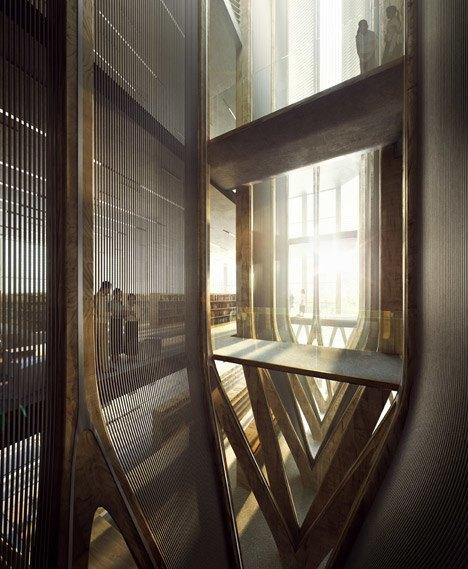 Заха Хадид спроектировала мемориальное здание  в Камбодже. Изображение № 7.