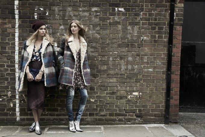 Модели на улицах Лондона в новой кампании Zara. Изображение № 16.