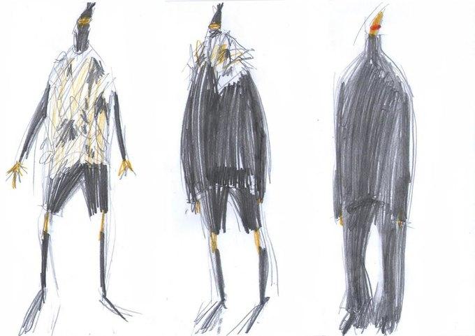 Nina Donis показали мудборд и эскизы новой коллекции. Изображение № 3.