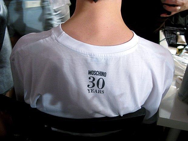 Репортаж:  Бэкстейдж Moschino  SS 2014. Изображение № 14.