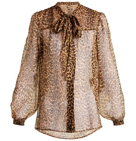Прозрачные блузки:  От простых до роскошных. Изображение № 8.