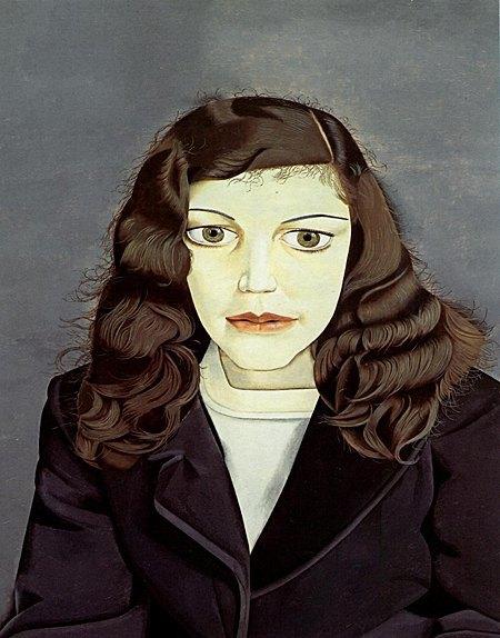 «Girl in a Dark Jacket», 1947. Изображение № 1.