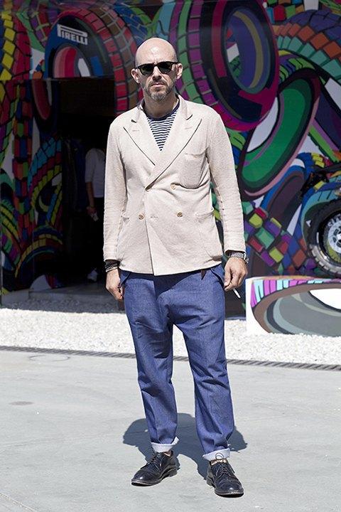 Стритстайл: Красивые мужчины на Pitti Uomo. Изображение № 3.