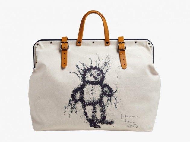 Хармони Корин создал сумку для agnès b.. Изображение № 1.