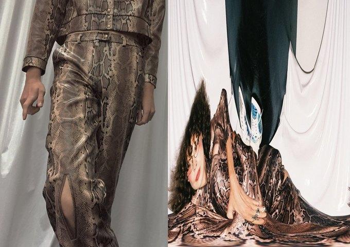Металлик и питон в новом лукбуке LOH apparel. Изображение № 9.
