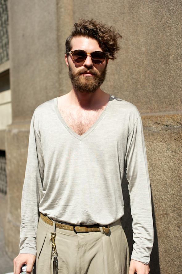 Стрит-стайл: Неделя мужской моды в Милане. Изображение № 18.