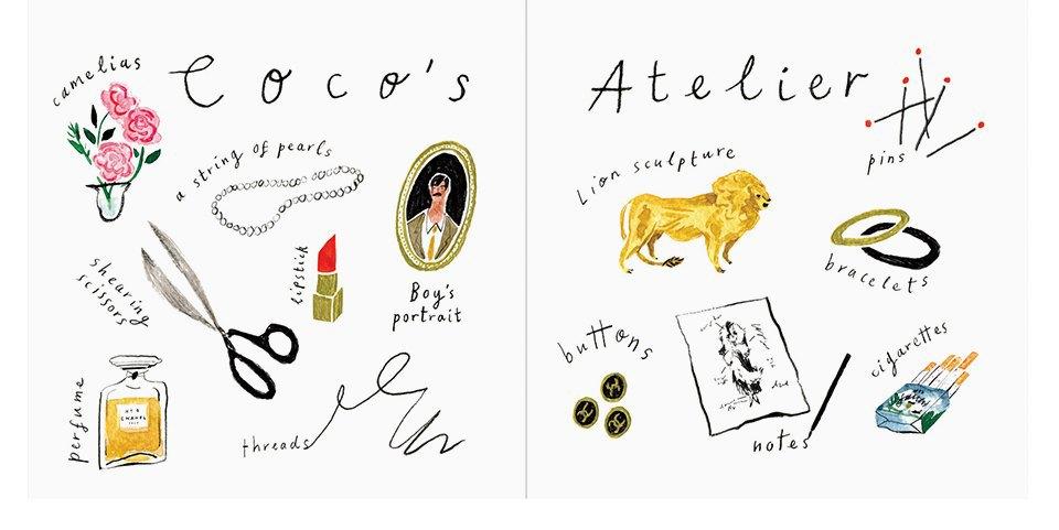 Иллюстрированная биография Коко Шанель. Изображение № 4.
