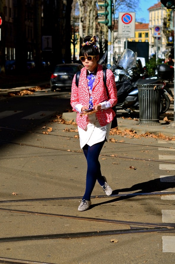 Неделя моды в Милане: Streetstyle. Изображение № 38.